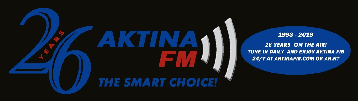 AKTINA FM 26 Years On The Air - The Alternative Voice And Smart Choice!
